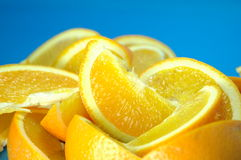 Saftige Orangen Stockfoto