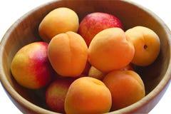 Saftige Pfirsiche Stockfoto
