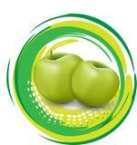 Saftige reife Äpfel Lizenzfreies Stockbild