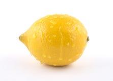 Saftige reife Zitrone Lizenzfreies Stockbild
