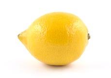 Saftige reife Zitrone Stockfotografie