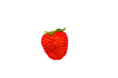 Saftige rote Erdbeere Stockfotos