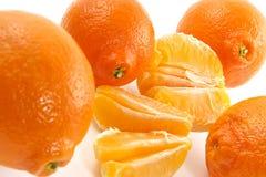 Saftige Tangerine Lizenzfreie Stockfotos