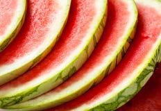 Saftige Wassermelone Stockfoto