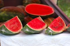 Saftige Wassermelone   Lizenzfreie Stockfotografie