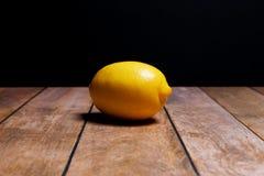 Saftige Zitrone stockfotografie