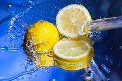 Saftige Zitrone Stockfotos