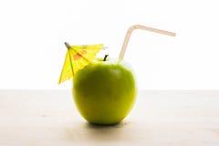 Saftiger Apfel lizenzfreies stockfoto