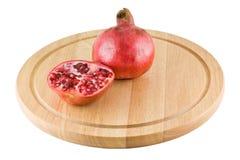 Saftiger Granatapfel Lizenzfreie Stockfotos