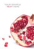 Saftiger Granatapfel Lizenzfreie Stockbilder