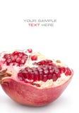 Saftiger Granatapfel Lizenzfreies Stockbild