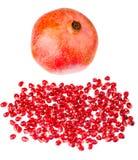 Saftiger Granatapfel Stockfotos