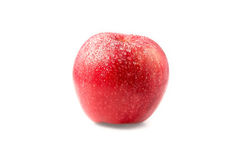 Saftiger roter Apfel Lizenzfreie Stockfotografie