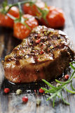 Saftiges Rindfleisch lizenzfreie stockbilder