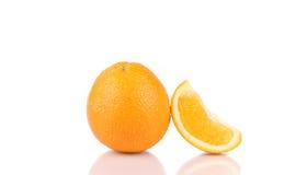 saftigt orange moget Royaltyfri Fotografi