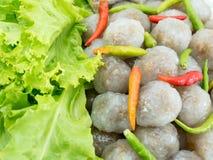 Sagù di Kanom; Dessert tailandese Immagine Stock