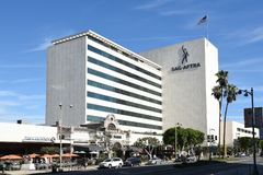 The SAG-AFTRA building Stock Image