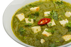Sag Paneer Royalty Free Stock Photography