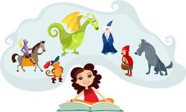 Saga stock illustrationer
