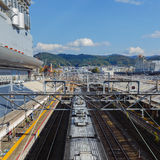 Saga Arashiyama Station in Kyoto Stock Images