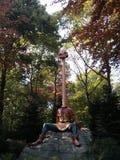 Saga Langnek i Efteling Royaltyfria Foton
