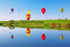 SAGA zawody międzynarodowi balonu fiesta Zdjęcia Stock