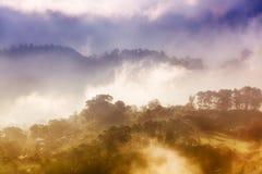 Sagada por salida del sol Fotografía de archivo libre de regalías