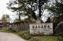 Sagada Sign - Philippines Royalty Free Stock Photos