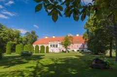Sagadi庄园,爱沙尼亚外部和公园  库存照片