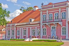 Sagadi manor house royalty free stock photography