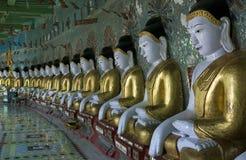 sagaing的寺庙 免版税库存图片