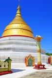 Sagaing Hill Pagodas, Sagaing, Myanmar. View of Sagaing Hill Pagodas, Sagaing, Myanmar Royalty Free Stock Photos