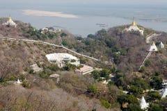 Sagaing Hills, Myanmar Stock Photos