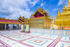 Sagaing Pagoda Myanmar Stock Photos