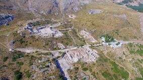 Sagalassos Burdur Turkey Ancient City stock video