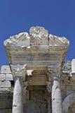Sagalassos Antoninus喷泉在伊斯帕尔塔,土耳其 免版税库存图片