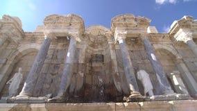 Sagalassos Burdur Turkey Ancient City stock video footage