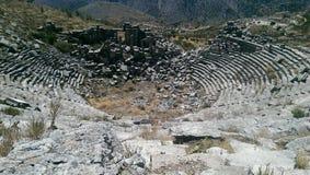 Sagalassos oude stad Stock Afbeelding