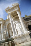 Sagalassos in Turkey. The ancient city of Sagalassos in Turkey Royalty Free Stock Images