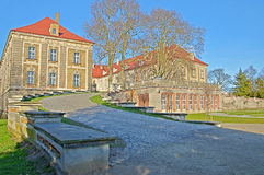 Герцогский дворец в Sagan. Стоковые Фотографии RF