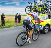 Sagan at the Start of Tour de France 2016 Stock Image