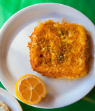 Saganaki Royalty Free Stock Photography