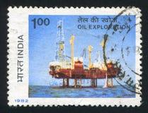 Sagar Samrat Drilling Rig foto de archivo libre de regalías