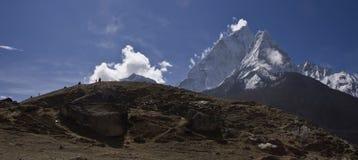 sagarmatha национального парка dablam ama Стоковое Изображение