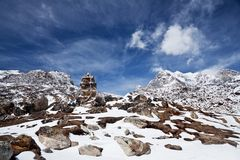 Sagarmatha National Park, Everest region, Nepal Stock Image