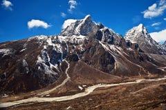 Sagarmatha National Park, Everest region, Nepal Royalty Free Stock Photo