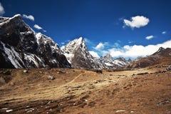 Sagarmatha National Park, Everest region, Nepal Royalty Free Stock Image