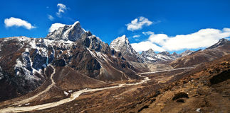 Sagarmatha National Park, Everest region, Nepal Royalty Free Stock Image