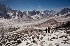 Sagarmatha national park, Nepal Stock Image