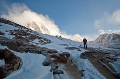 Sagarmatha national park, Nepal Stock Photography